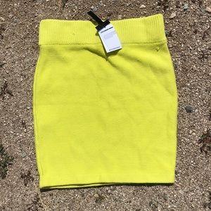 NWT Alexander Wang Knit Bodycon Skirt